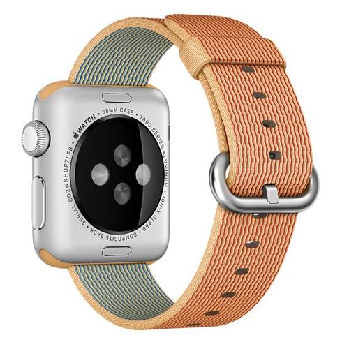 Apple MM9R2ZM/A Uhrenarmband (Gold, Rot)