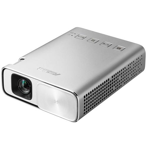 ASUS ZenBeam E1 150ANSI Lumen DLP WVGA (854x480) Portable projector Silber (Silber)