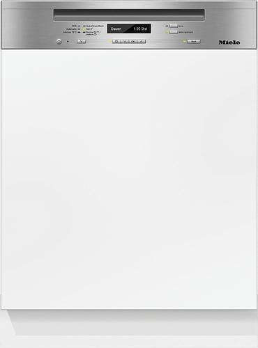 Miele G 6730 SCi Vollständig integrierbar 14Stellen A+++-10% Edelstahl, Weiß (Edelstahl, Weiß)