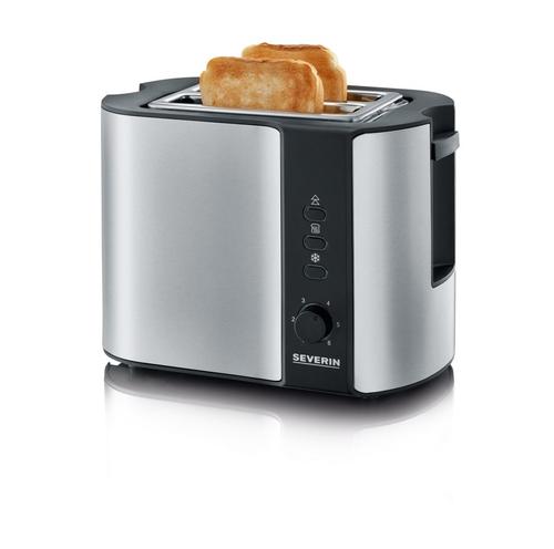Severin AT 2589 Toaster (Schwarz, Edelstahl)