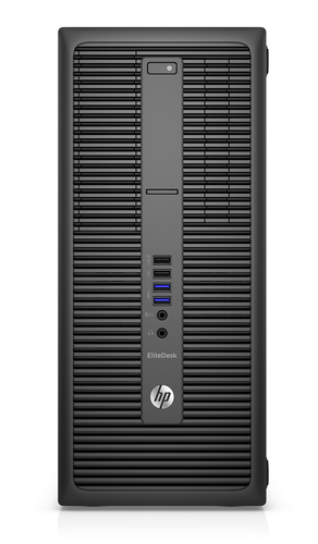 HP EliteDesk 800 G2 Tower-PC (ENERGY STAR) (Schwarz)