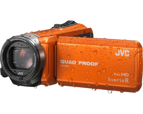 JVC GZ-R415DEU Handkamerarekorder CMOS Orange (Orange)
