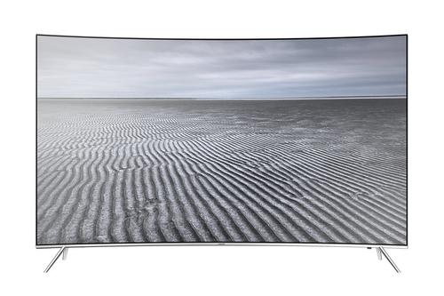 Samsung KS7590 55Zoll 4K Ultra HD Smart-TV Schwarz, Silber (Schwarz, Silber)