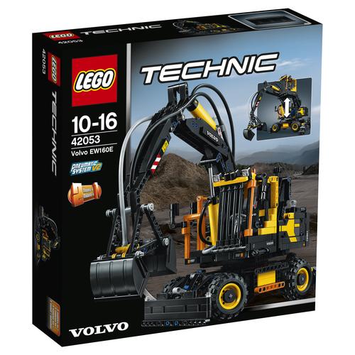 LEGO Technic Volvo EW160E 1166Stück(e) (Schwarz, Gelb)