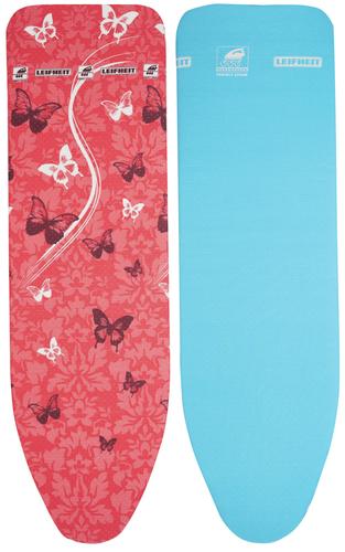 LEIFHEIT Perfect Steam Air Board Express L Ironing board padded top cover Blau, Rot (Blau, Rot)