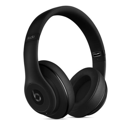 Apple Beats Studio ohrumschließend Kopfband Schwarz (Schwarz)