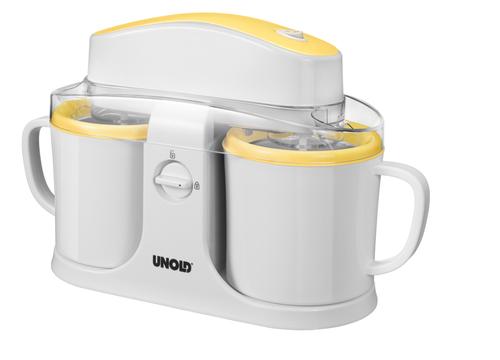 Unold Duo (Weiß, Gelb)