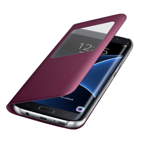 Samsung EF-CG935 5.5Zoll Flip Bordeaux (Bordeaux)