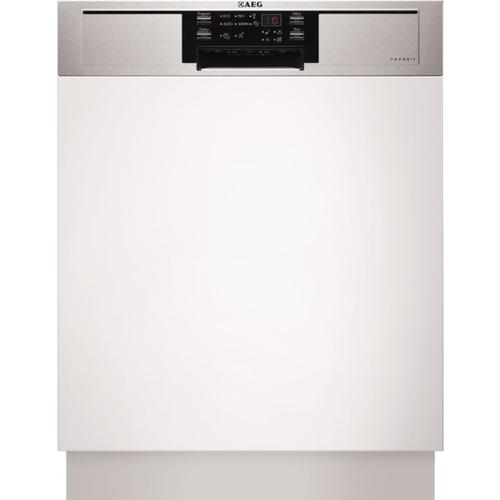 AEG F56332IM0 Integrierbar 13Stellen A++ Edelstahl, Weiß (Edelstahl, Weiß)