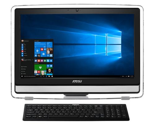 MSI Pro 22ET 6M-014DE 3.7GHz i3-6100 21.5Zoll 1920 x 1080Pixel Touchscreen Weiß All-in-One-PC (Weiß)