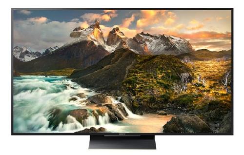 Sony KD65ZD9 75Zoll 4K Ultra HD 3D Smart-TV WLAN Schwarz (Schwarz, Gold)