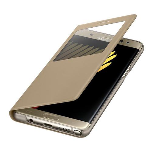 Samsung EF-CN930PFEGWW 5.7Zoll Folio Gold Handy-Schutzhülle (Gold)
