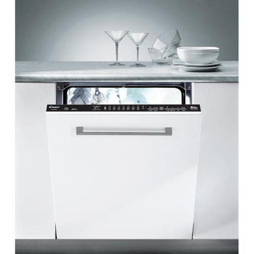 Candy CDI 2D36 Vollständig integrierbar 10Stellen A++ Grau, Metallisch, Weiß Spülmaschine (Grau, Metallisch, Weiß)