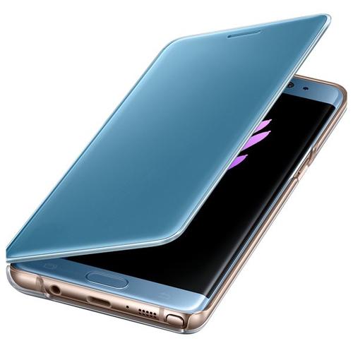 Samsung EF-ZN930CLEGWW 5.7Zoll Folio Blau Handy-Schutzhülle (Blau, Transparent)