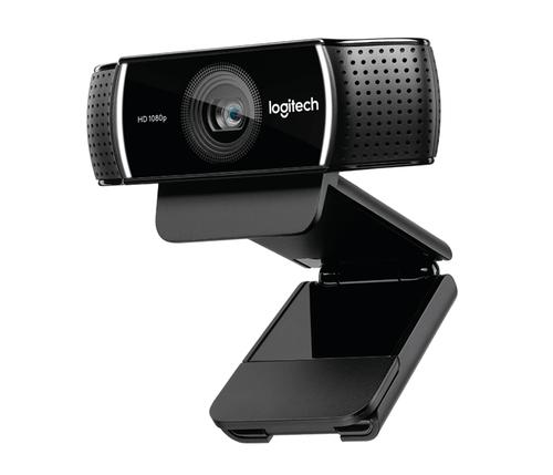 Logitech C922 Pro Stream 1920 x 1080Pixel USB Schwarz (Schwarz)