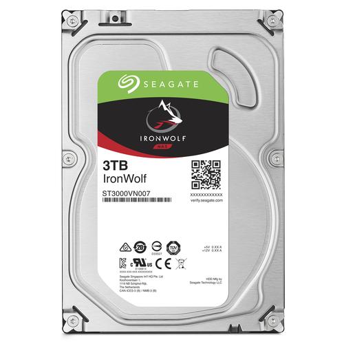 Seagate NAS HDD IronWolf 3TB 3000GB Serial ATA III Interne Festplatte