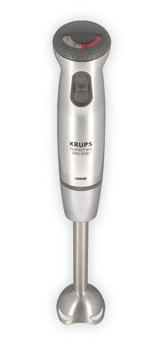 Krups Perfect Mix Pro 9000 Hand mixer Grau, Edelstahl 0.8l 1000W (Grau, Edelstahl)