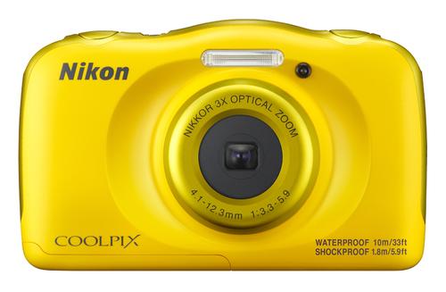Nikon COOLPIX W100 13.2MP 1/3.1Zoll CMOS 4160 x 3120Pixel Gelb (Gelb)