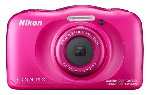 Nikon COOLPIX W100 Kompaktkamera 13.2MP 1/3.1Zoll CMOS 4160 x 3120Pixel Pink (Pink)
