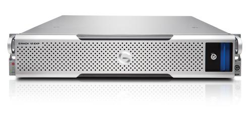 G-Technology G-RACK 12 Expansion 96000GB Rack (2U) Silber Disk-Array (Silber)