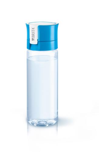 Brita Fill&Go Bottle Filtr Blue Wasserfiltration Flasche Blau (Blau, Transparent)