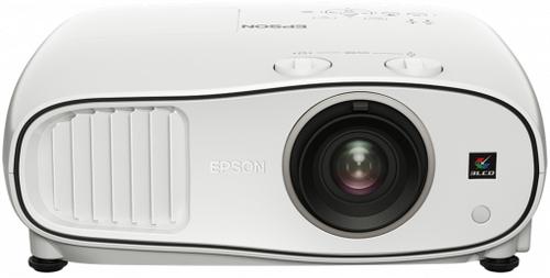 Epson EH-TW6700W Desktop-Projektor 3000ANSI Lumen 3LCD 1080p (1920x1080) 3D Weiß Beamer (Weiß)