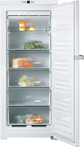 Miele FN 24062 WS Freistehend Senkrecht 185l A++ Weiß Tiefkühltruhe (Weiß)