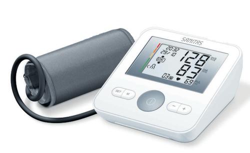 Sanitas SBM 18 Oberarm Automatic blood pressure unit 4Benutzer (Weiß)
