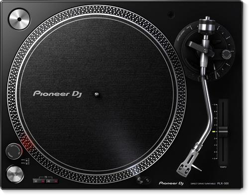 Pioneer PLX-500 Direct drive DJ turntable Schwarz (Schwarz)