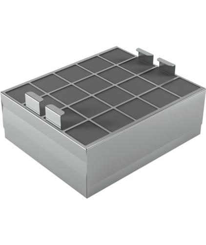 Siemens LZ00XXP00 Cooker hood filter Bauteil & Zubehör für Dunstabzugshauben (Schwarz, Grau)