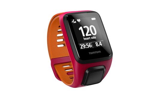 TomTom Runner 3 Cardio– Pink/Orange– GrößeS (Orange, Pink)