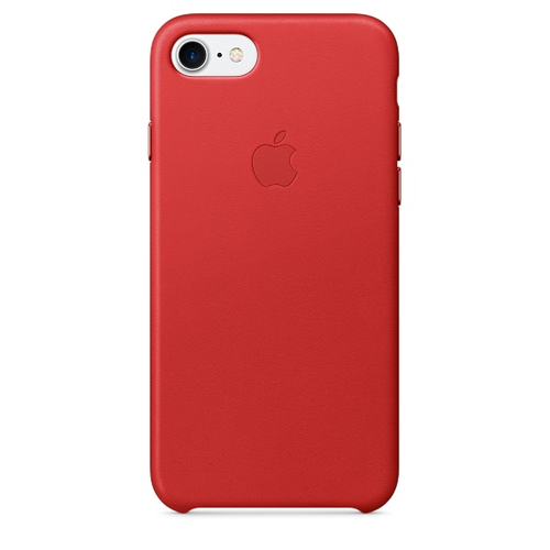 Apple MMY62ZM/A 4.7Zoll Skin Rot Handy-Schutzhülle (Rot)