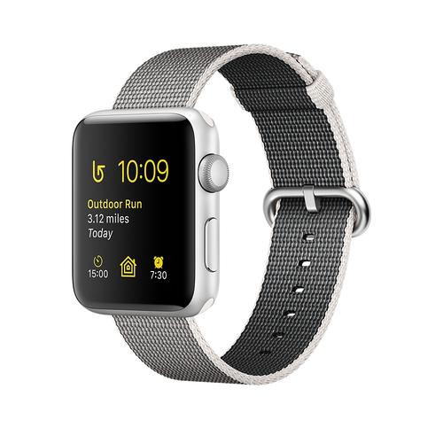 Apple Watch Series 2 OLED 28.2g Silber (Grau, Weiß, Silber)