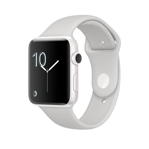 Apple Watch Edition OLED 45.6g Weiß (Grau, Weiß)