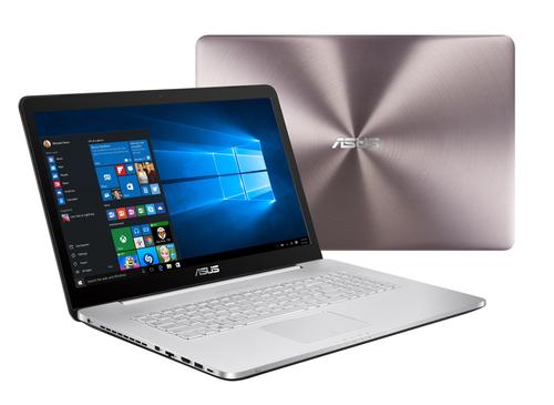 ASUS VivoBook Pro N752VX-GC146T 2.6GHz I7-6700HQ 17.3Zoll 1920 x 1080Pixel Grau (Grau, Aluminium)