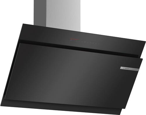 Bosch Serie 6 DWK97JQ60 Wand-montiert 730m³/h A+ Schwarz Dunstabzugshaube (Schwarz)