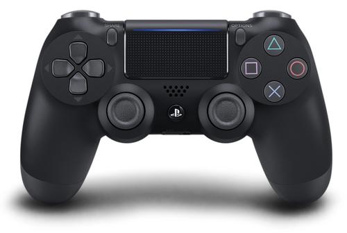 Sony DualShock 4 Gamepad PlayStation 4 Schwarz (Schwarz)