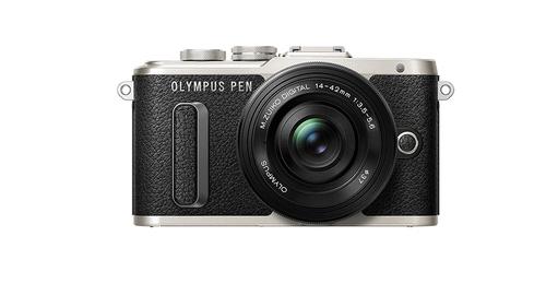 Olympus PEN E-PL8 + 14-42mm EZ 16.1MP 4/3Zoll Live MOS 4608 x 3456Pixel Schwarz (Schwarz)