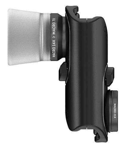 olloclip Macro Pro Lens Set Macro Schwarz, Silber Handy-Linse (Schwarz, Silber)