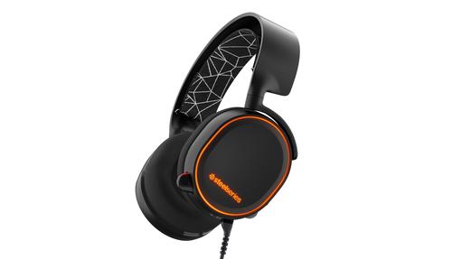 Steelseries ARCTIS 5 Binaural Kopfband Schwarz Headset (Schwarz)