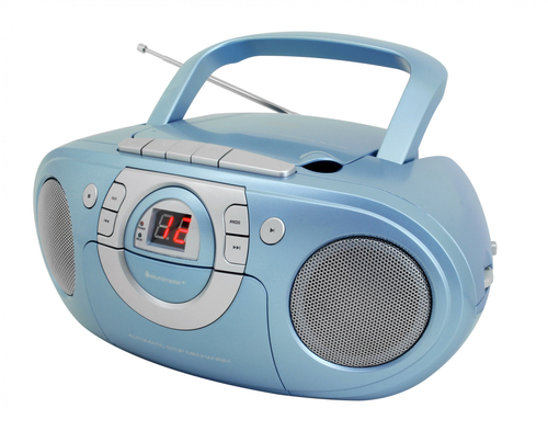 Soundmaster SCD 5100 Analog Blau CD-Radio (Blau)