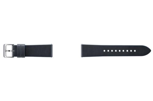 Samsung ET-YSL76MNEGWW Watch strap Leder Blau Uhrenarmband (Blau)