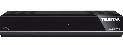 Telestar digiHD TC 6 Kabel Full-HD Schwarz TV Set-Top-Box (Schwarz)