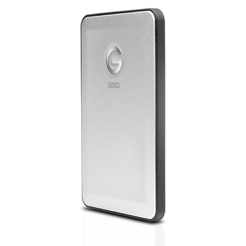 G-Technology G-DRIVE slim SSD USB-C 500GB Silber (Silber)
