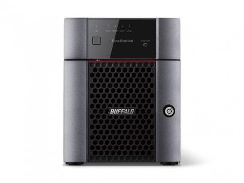 Buffalo TeraStation 3410DN NAS Desktop Eingebauter Ethernet-Anschluss Schwarz (Schwarz)