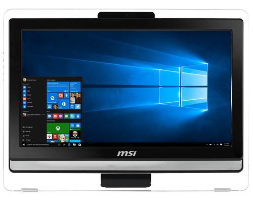 MSI Pro 20ET 4BW-057DE 1.6GHz N3160 19.5Zoll 1600 x 900Pixel Touchscreen Schwarz All-in-One-PC (Schwarz)