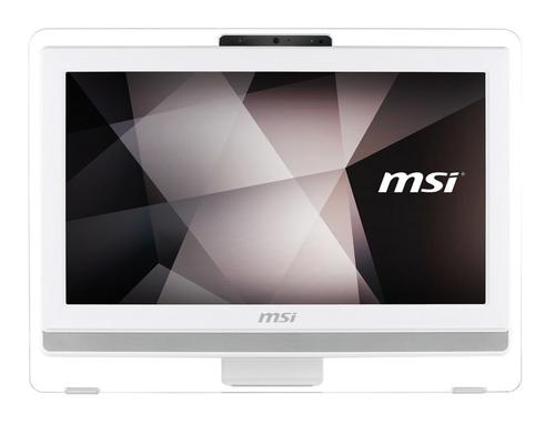 MSI Pro 20ET 4BW-058DE 1.6GHz N3160 19.5Zoll 1600 x 900Pixel Touchscreen Weiß All-in-One-PC (Weiß)