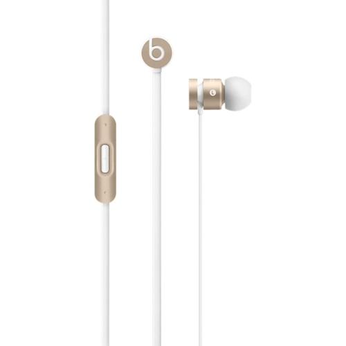 Beats by Dr. Dre urBeats im Ohr Binaural Verkabelt Weiß Mobiles Headset (Gold, Weiß)