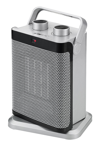 Clatronic HL 3631 1500W Grau Lüfter Elektrische Raumheizung (Grau)