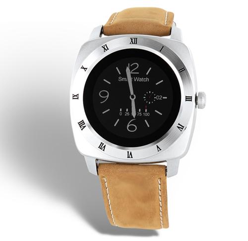 xlyne Nara XW Pro Silber Smartwatch (Beige, Silber)
